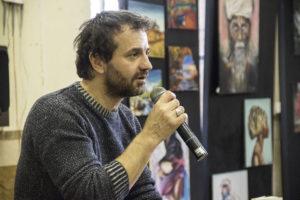 Emilio Casalini ospite al Liceo Artistico di Orvieto